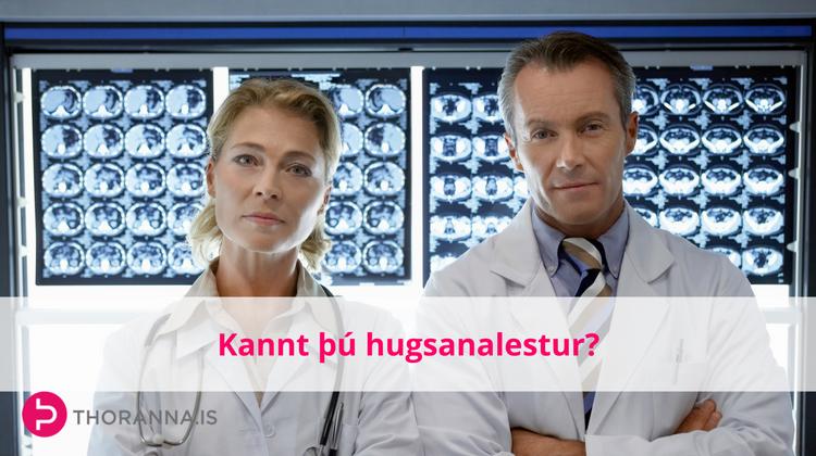 kannt þú hugsanalestur - thoranna.is