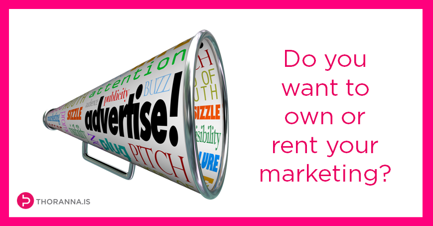 own or rent your marketing