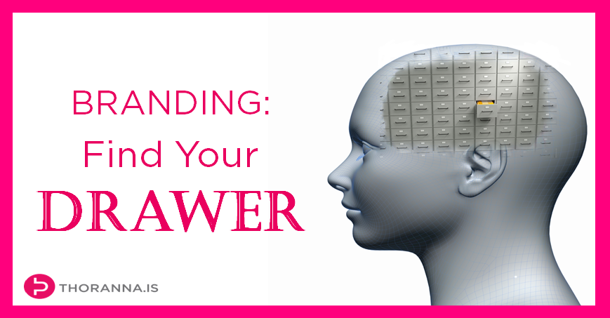 Branding - find your drawer