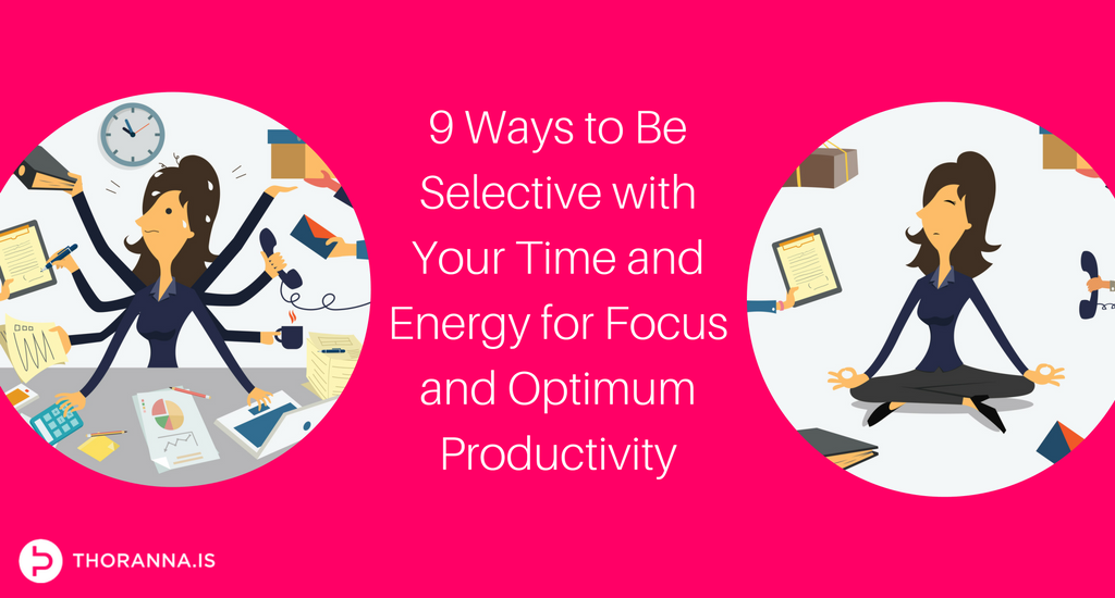 focus and optimum productivity