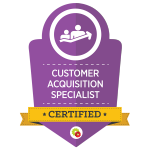 Certified Customer Acquisition Specialist - DigitalMarketer