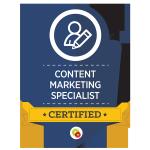 Certified Content Marketing Specialist