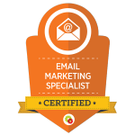 Certified Email Marketing Specialist - Digital Marketer