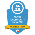Certified Social & Community Manager - DigitalMarketer